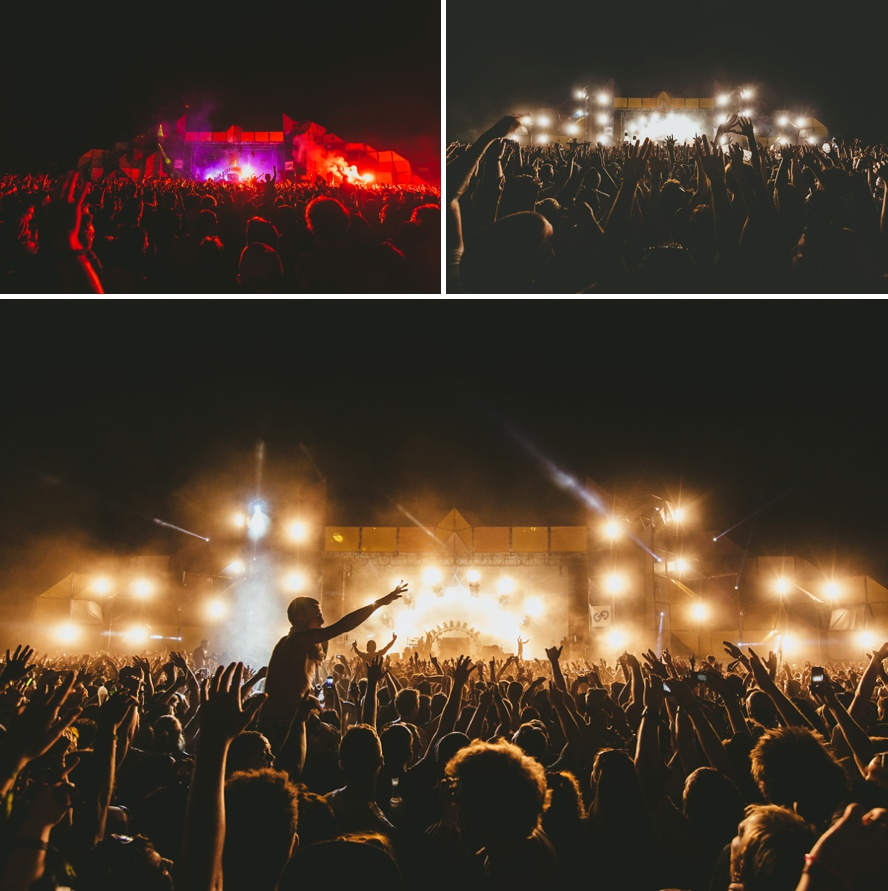 Crowd photos at festivals