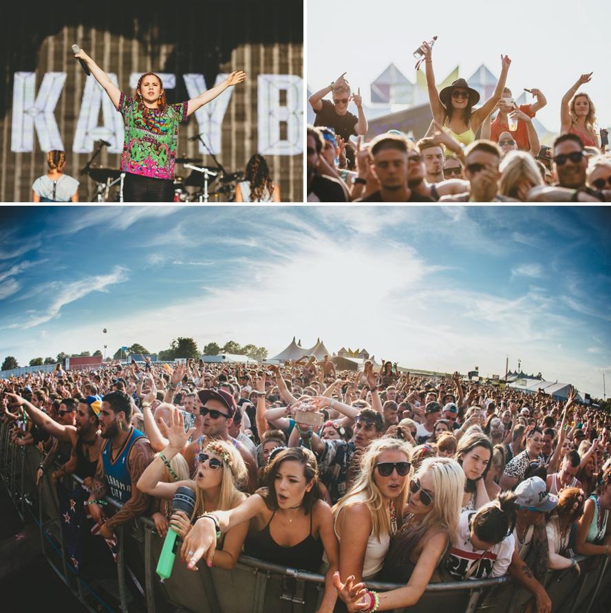 Crowd photos music festival