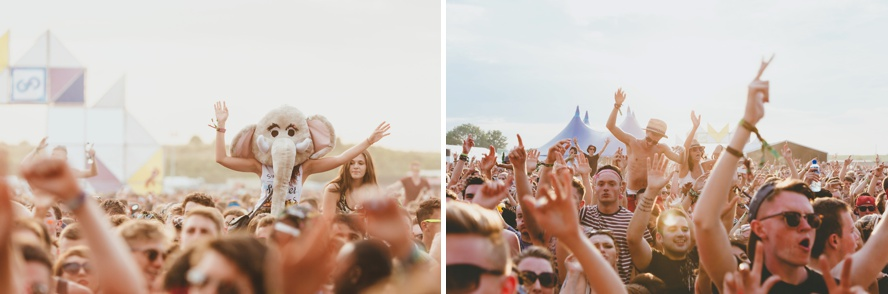 Festival crowds photography