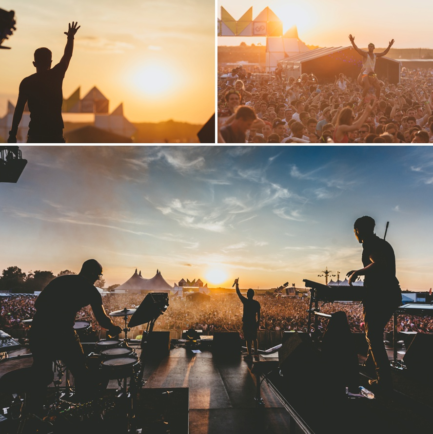 Festival main stage photography