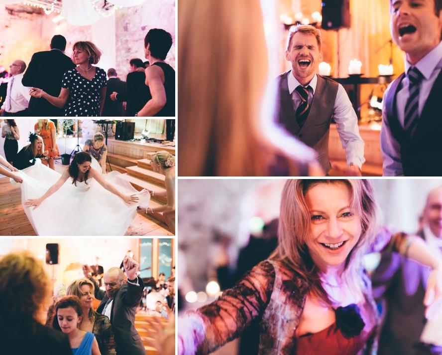Fun moments at weddings