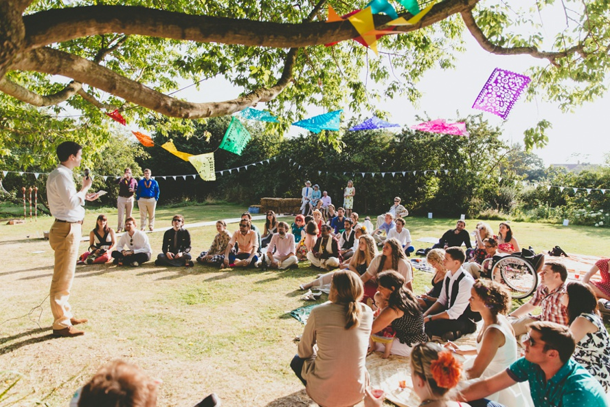 Outdoor weddings in Somerset