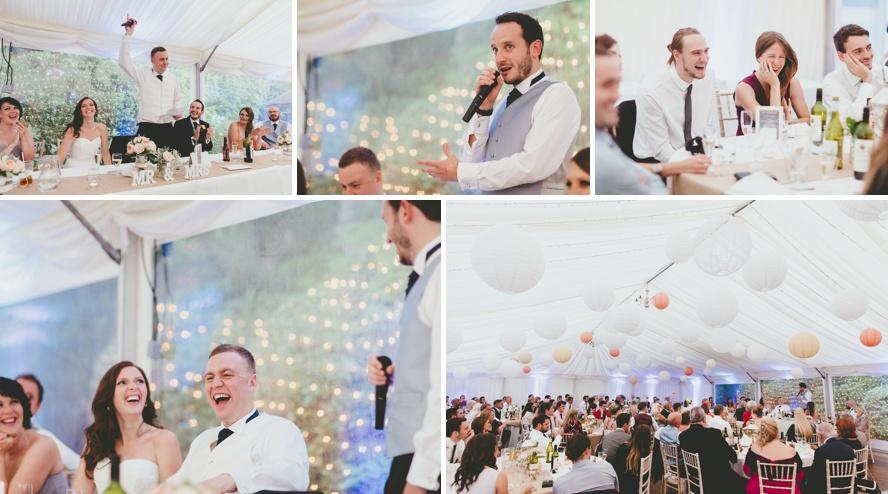 Reportage photography of weddings