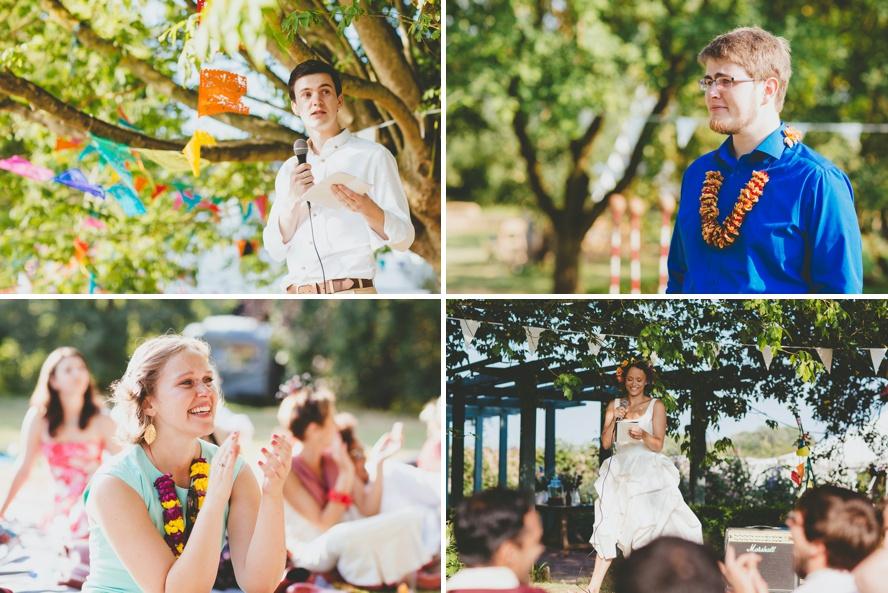 Somerset weddings on a farm