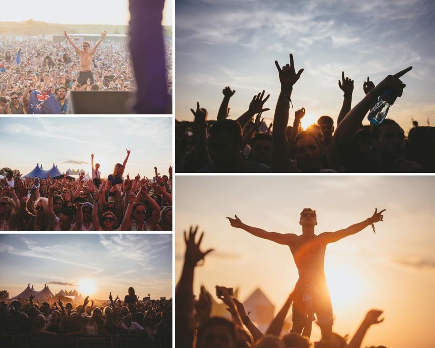 Sunset photos festival photography
