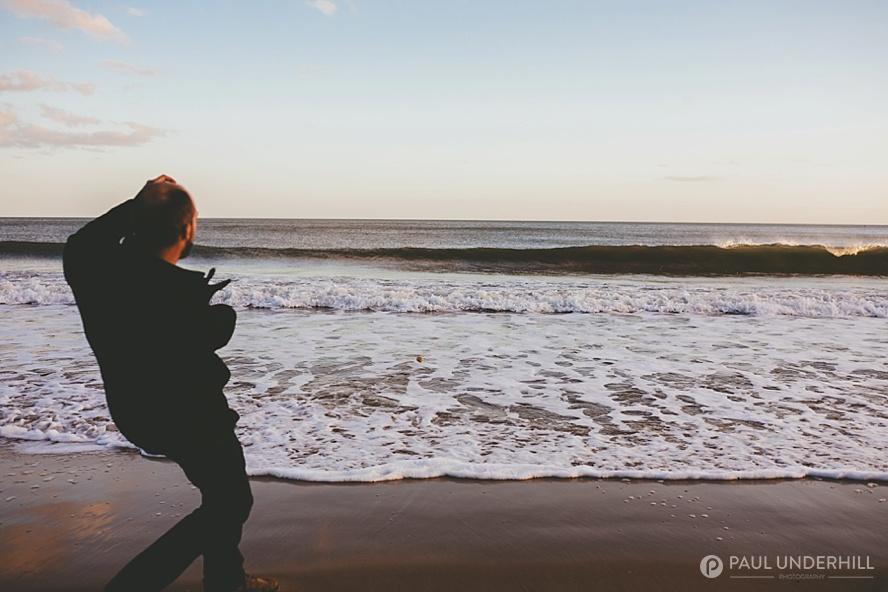 Bournemouth beach wedding photographers