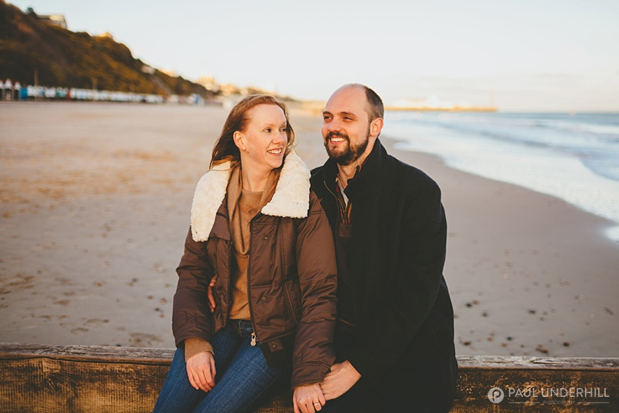 Couples photo shoot in Bournemouth