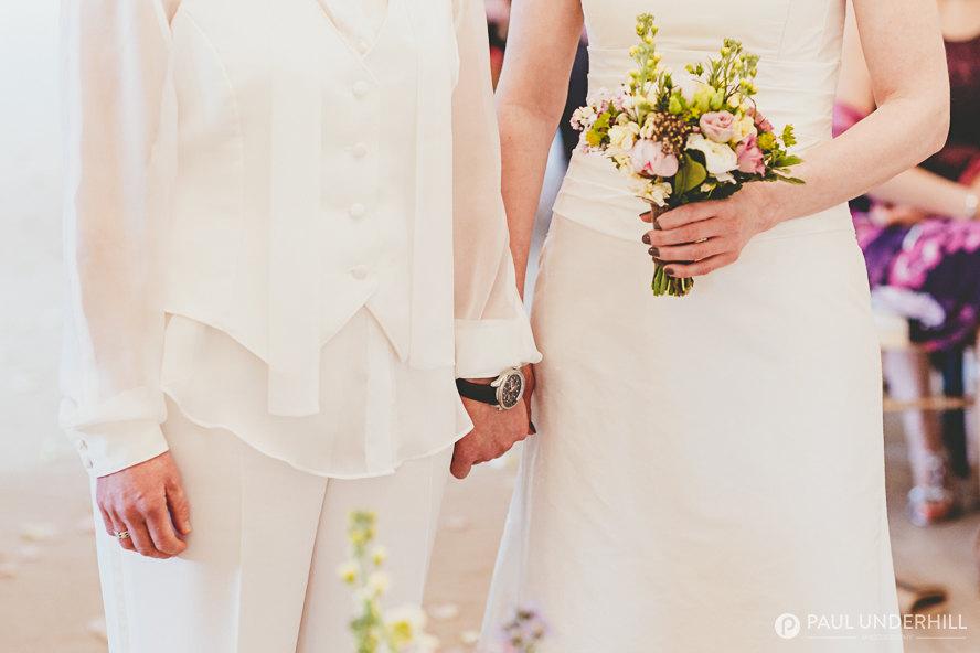 Lesbian weddings in Dorset