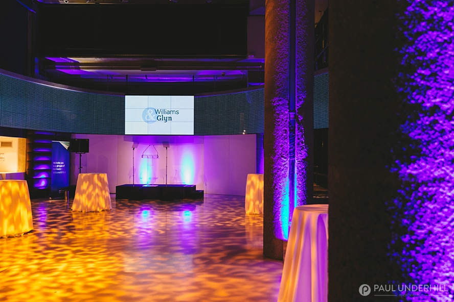 Photography of London corporate event