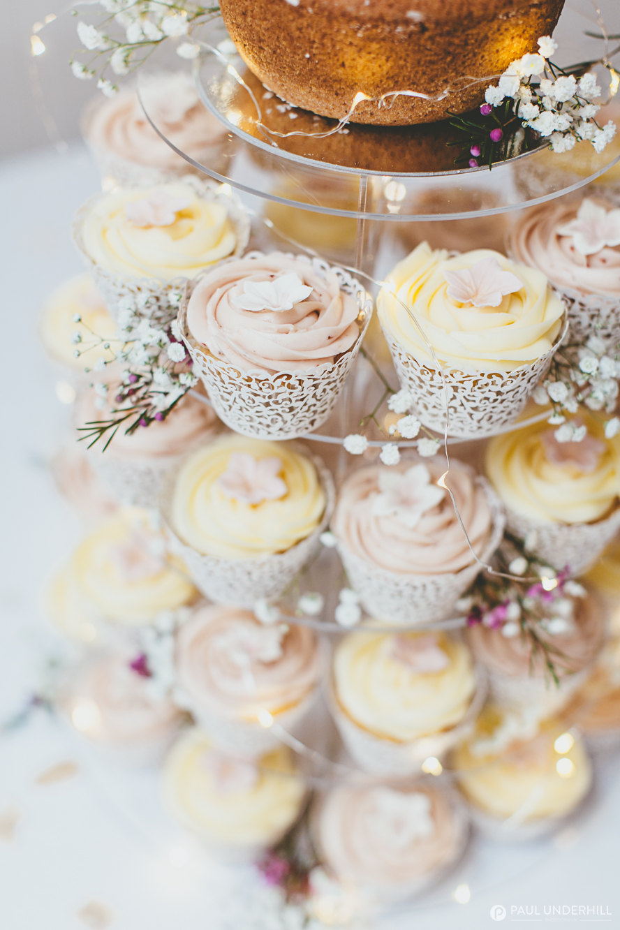 Wedding photography cup cakes