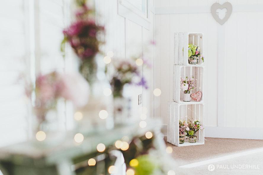 Wild flowers DIY wedding decorations