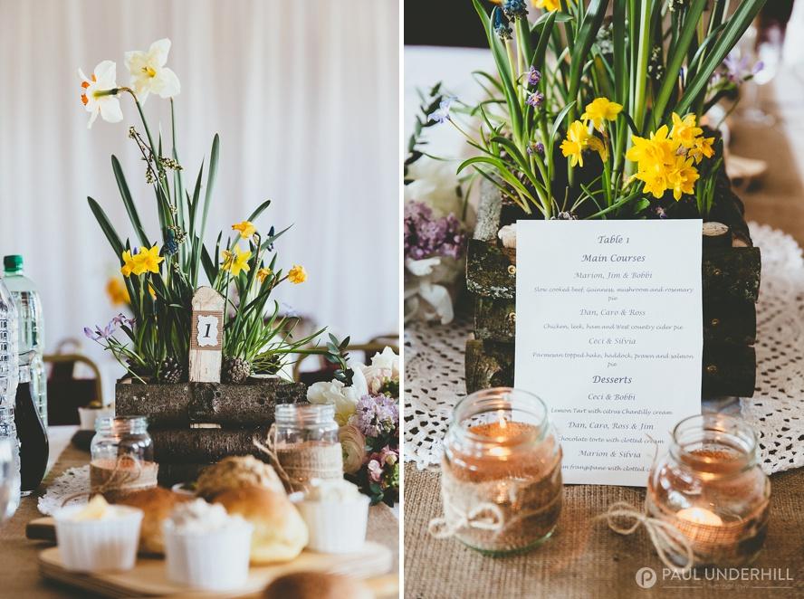 DIY wedding ideas forest themed