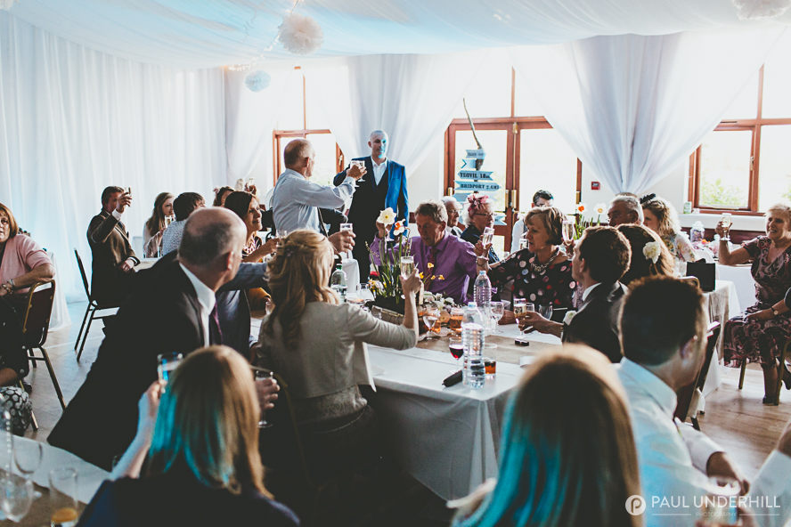 DIY weddings in Dorset village hall