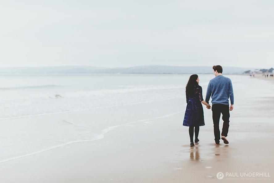 Dorset beach photo shoot