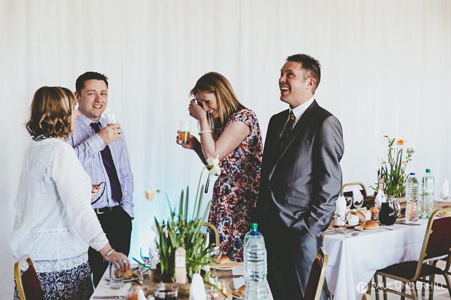 Fun wedding moments