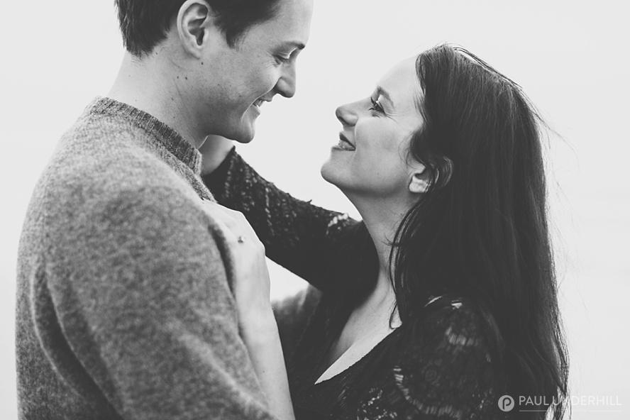 Romantic couples portraits