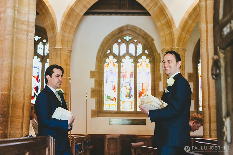 Church wedding in Somerset