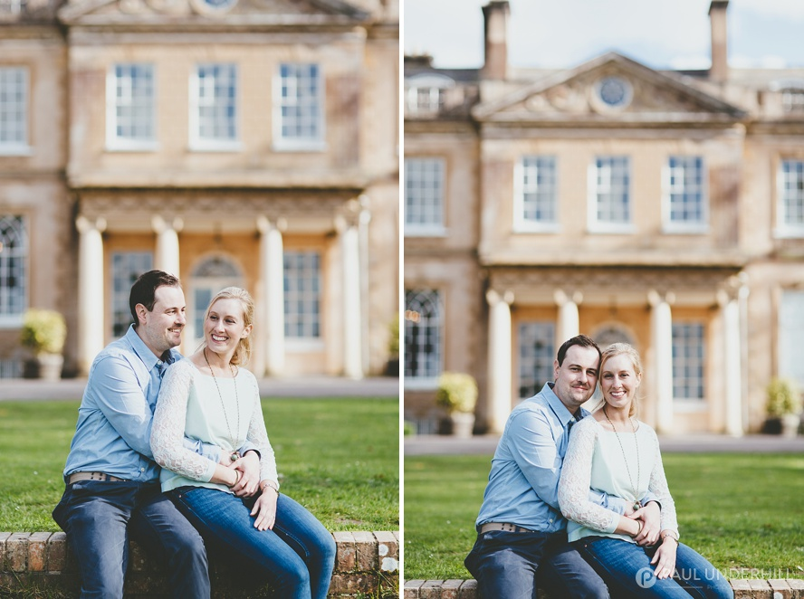 Couples portraits in Dorset