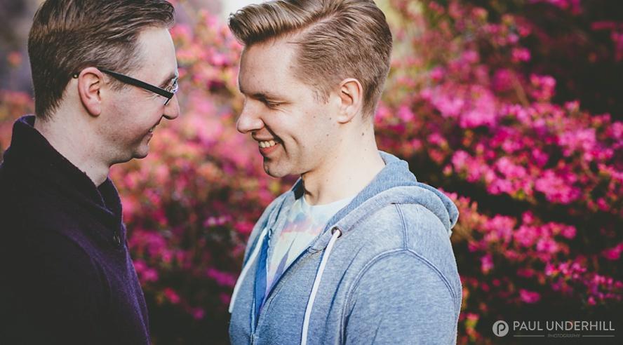 Creaitve photography gay men