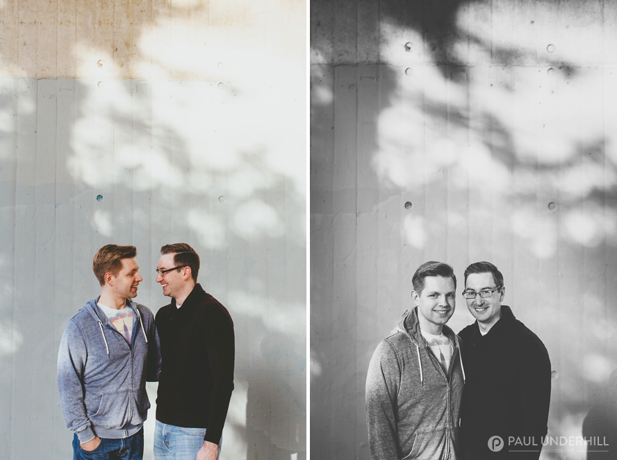 Creative gay wedding photographers