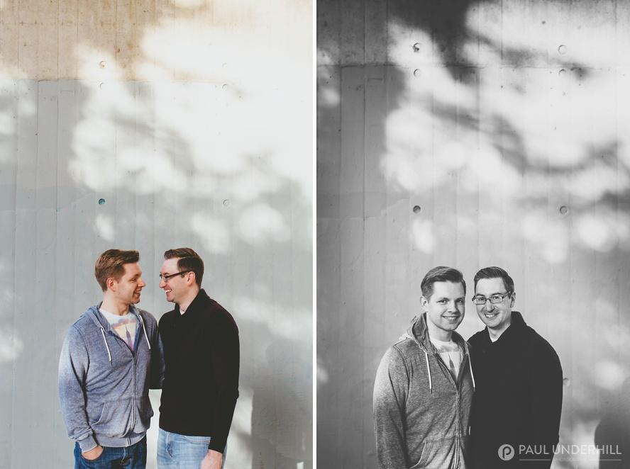 Creative gay wedding photographers