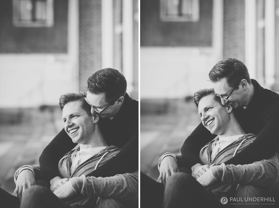 Creative portraits of same sex couples