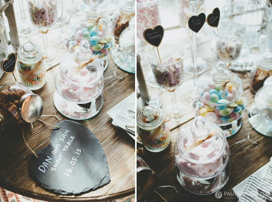 DIY wedding ideas sweat jars