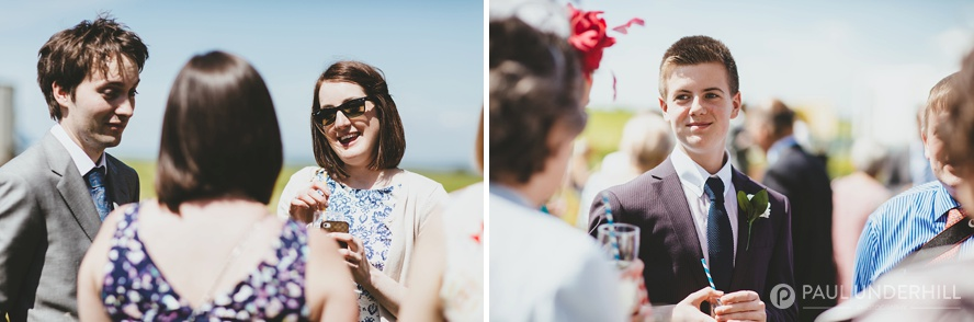 Documentary photography at Dorset wedding