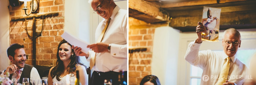 Documentary photography wedding speech