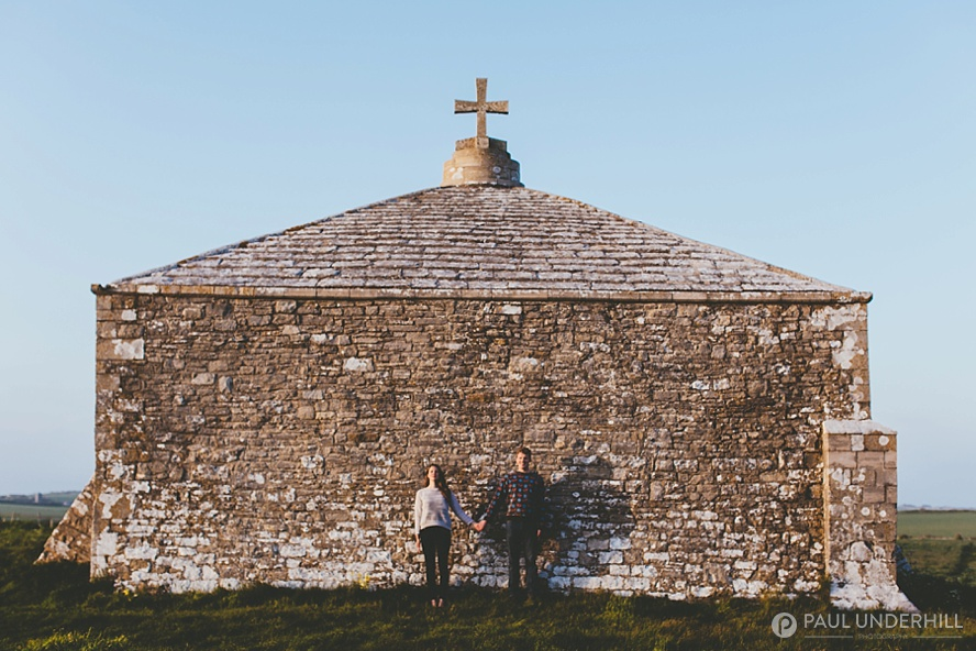 Dorset chapel at St Aldhelms Head