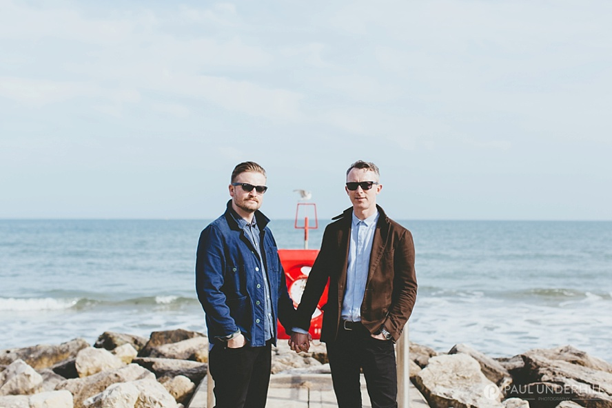 Dorset gay wedding photographers