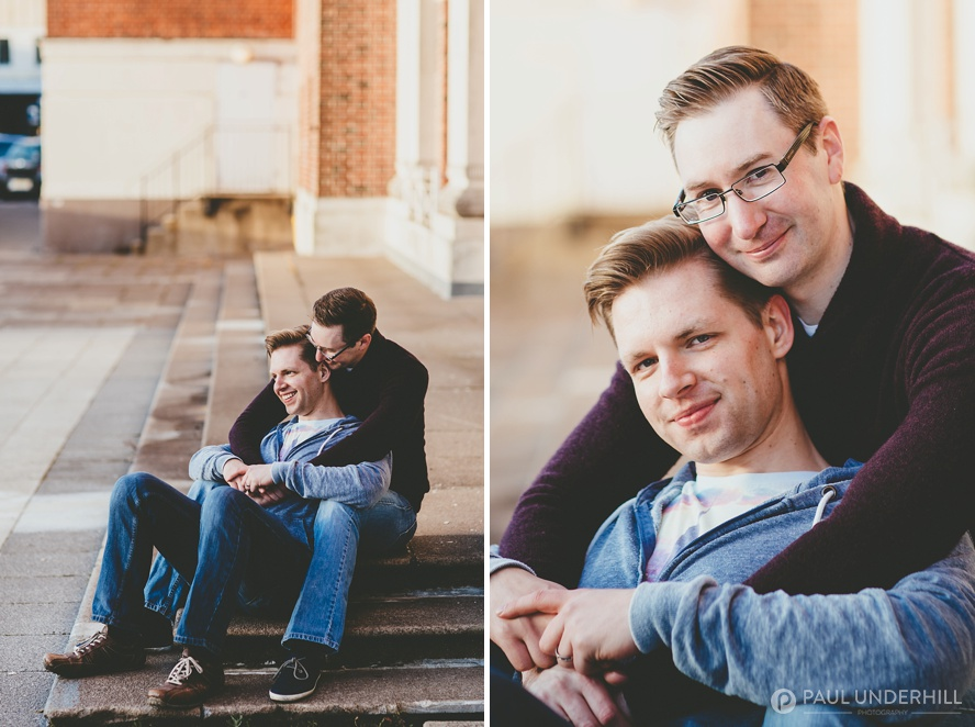 Gay pre wedding shoot Bournemouth
