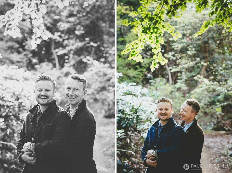 Portraits gay men