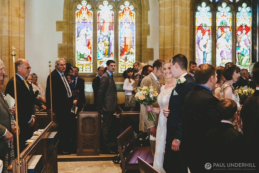 St Marys Church Compton Pauncefoot wedding