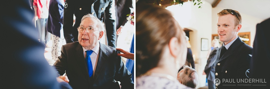 Surrey wedding reception photography