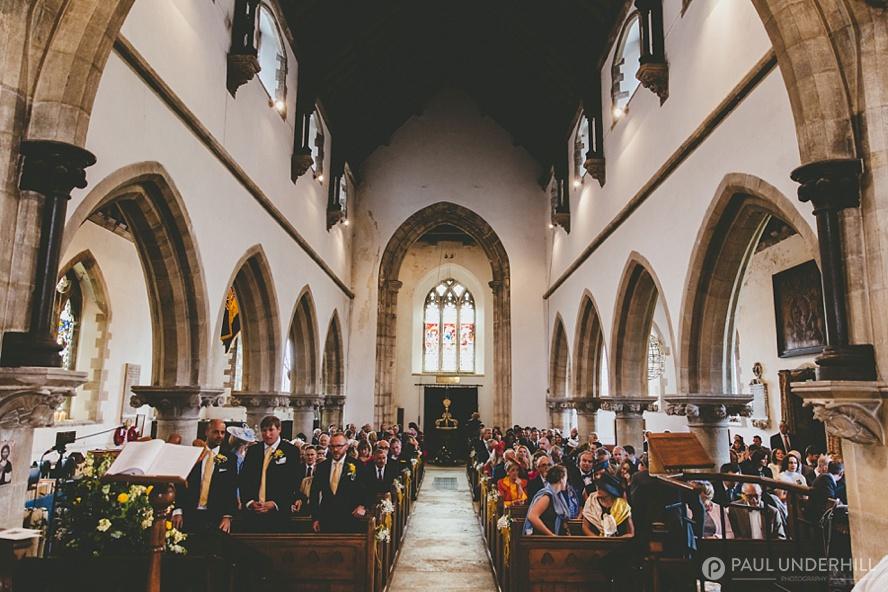 Corfe Church wedding photography