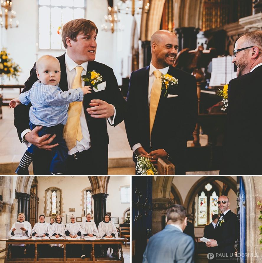 Corfe village wedding in Dorset
