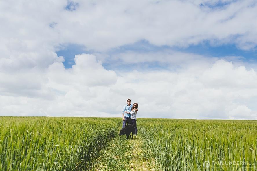 Creative portrait photography in Dorset