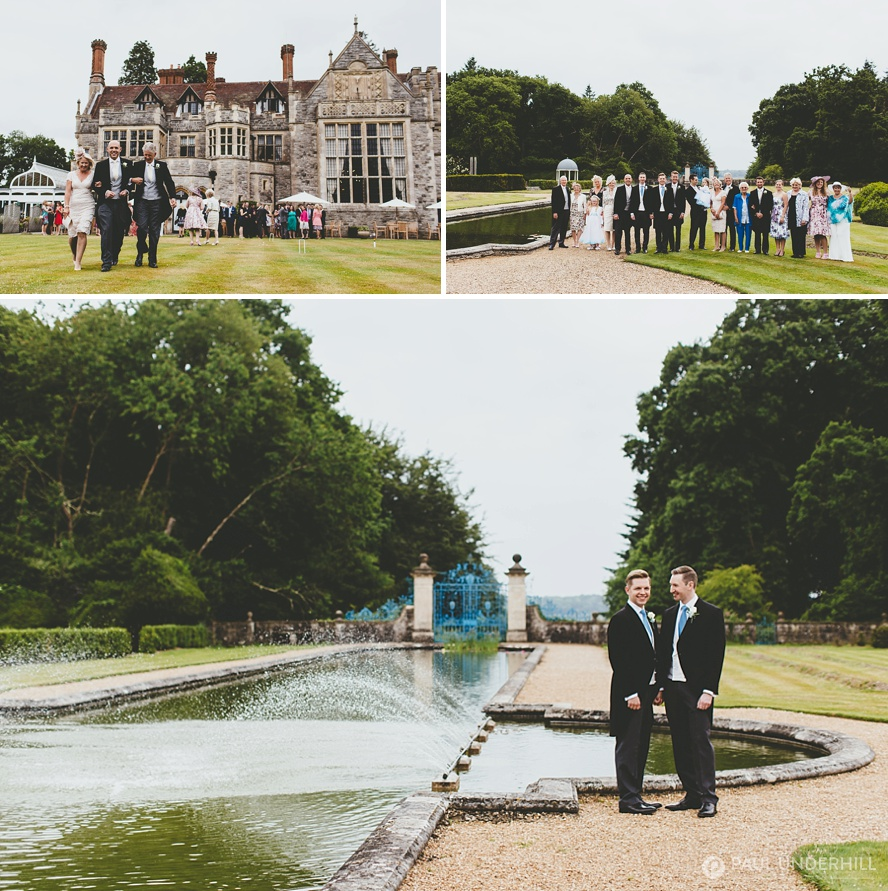 Creative portraits at Rhinefield House