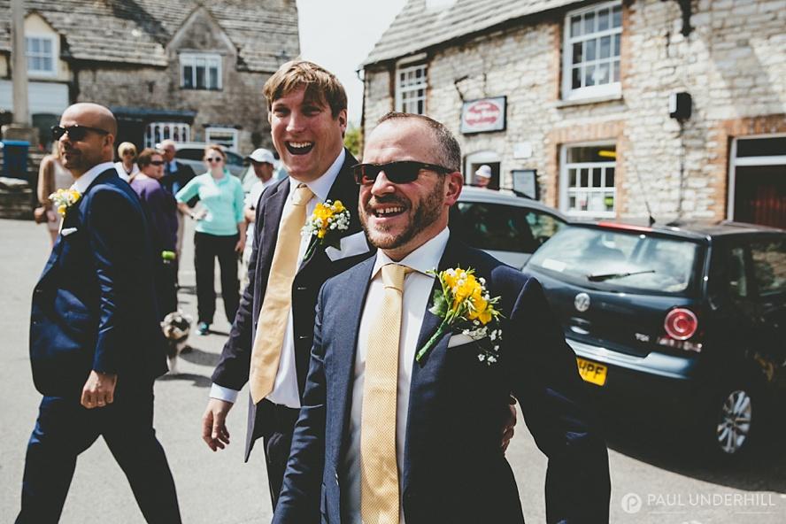 Documentary photography Dorset wedding