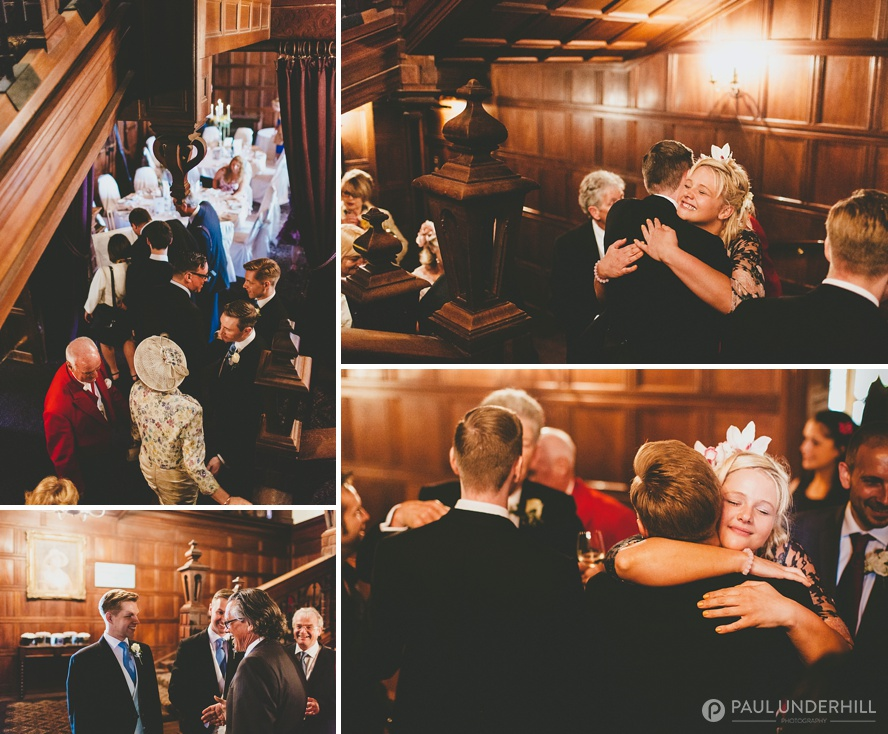 Documentary photography of wedding guests