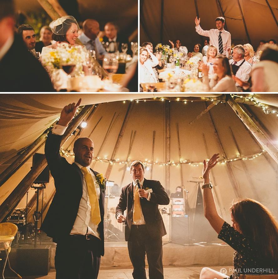 Dorset wedding reception Kimmeridge
