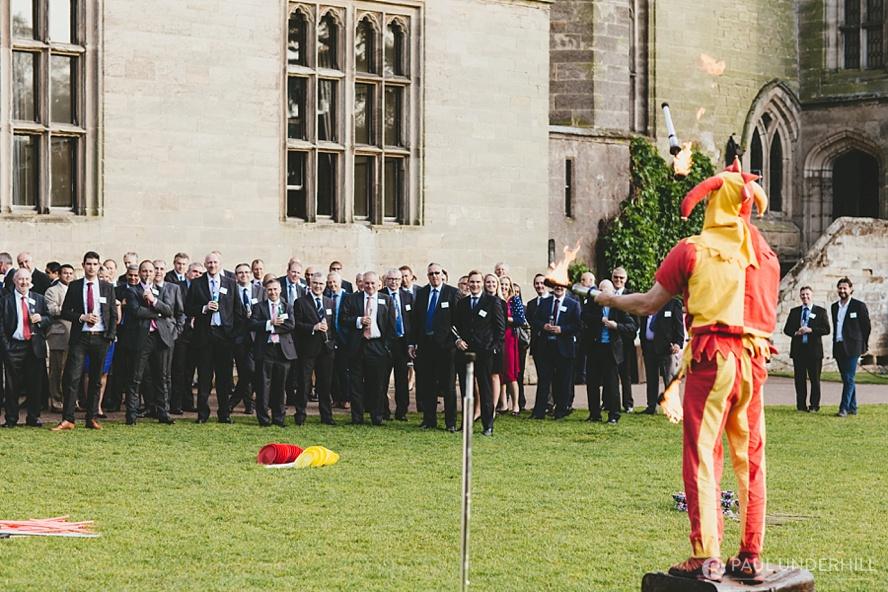 Event entertainment Warwick Castle