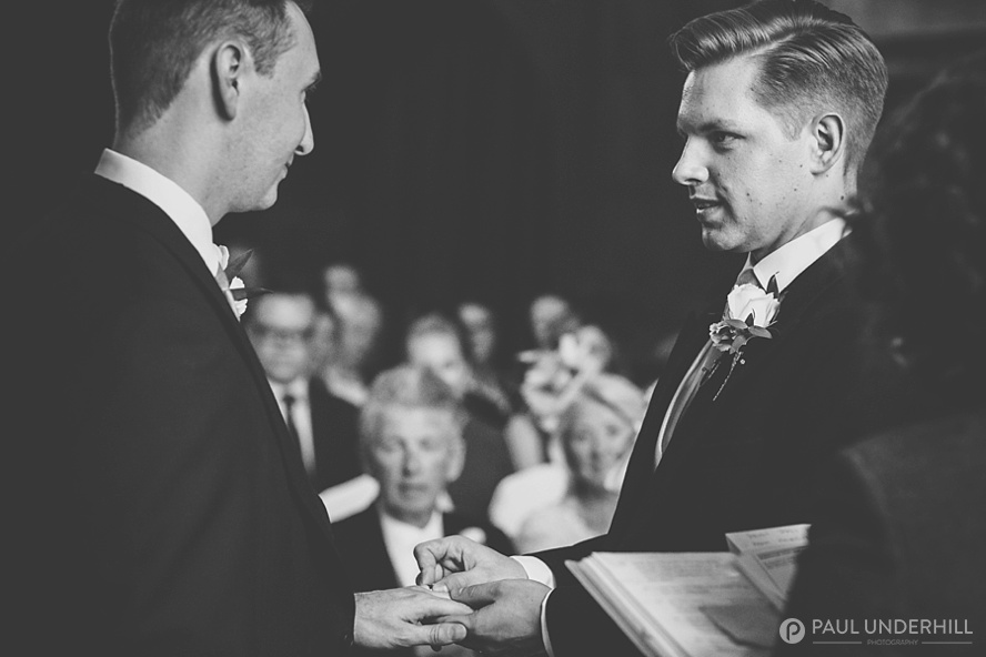 Gay wedding documentary photography