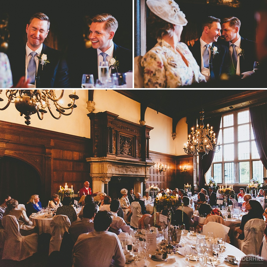 Grand Hall wedding reception Rhinefield