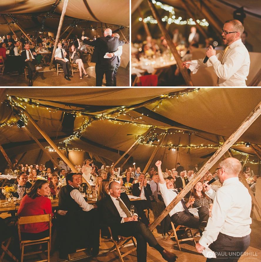 Grooms speech Dorset wedding