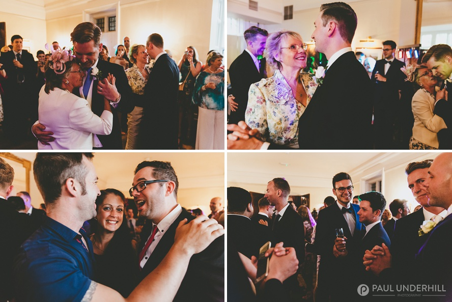 Reportage photos of wedding guests