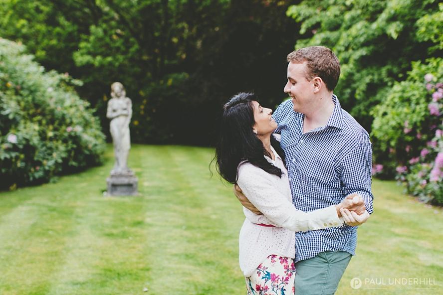 Rhinefield House pre wedding shoot