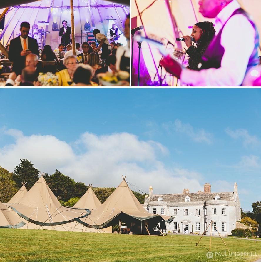 Smedmore House Tipi Wedding Dorset