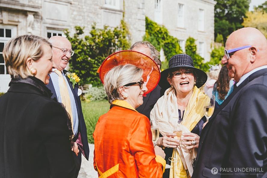 Smedmore House wedding reception